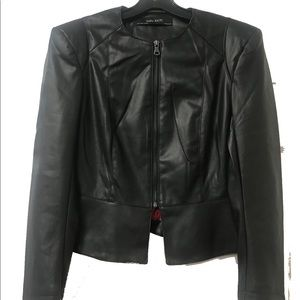 ZARA Black Leather Jacket ~all sizes
